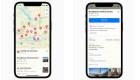 Apple Maps muestra ubicaciones de vacunación covid-19