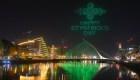 Dublín celebra St. Patrick's Day con show de drones