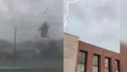 Graban destrucción de enorme tornado en Tuscaloosa