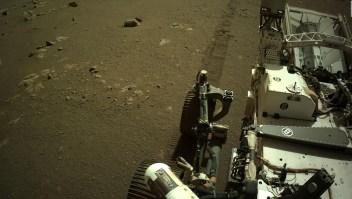 El Perseverance envía sus propios sonidos desde Marte