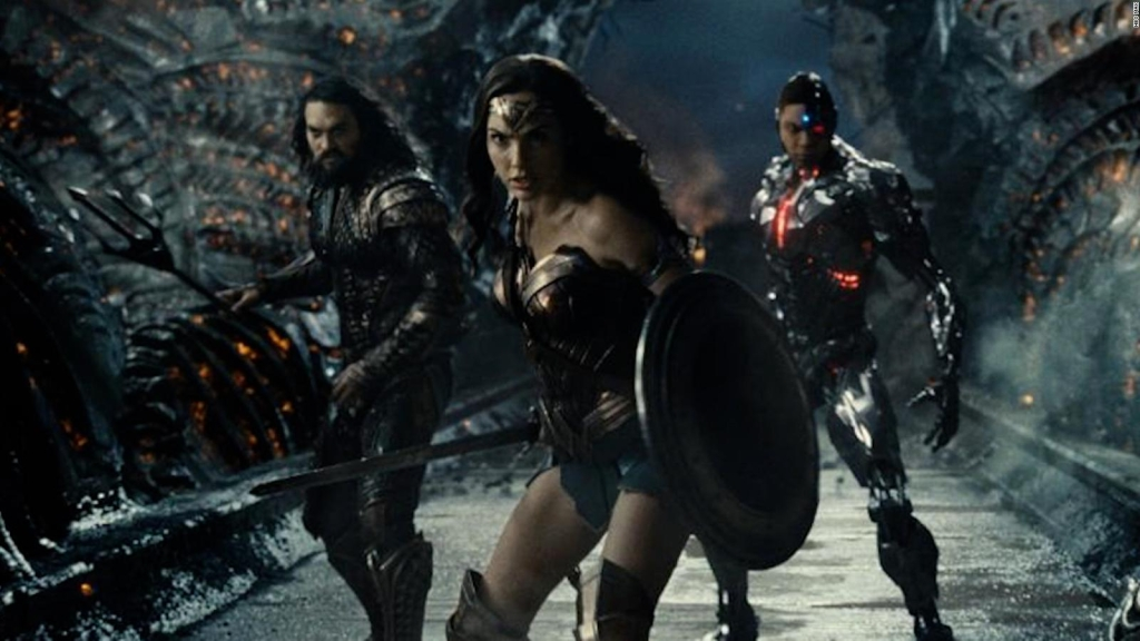 The premiere of Zack Snyder's Justice League
