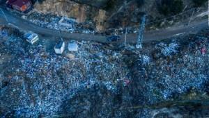 Así se ven las aguas contaminadas desde el cielo