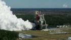 La NASA prueba con éxito un cohete para misión a la Luna