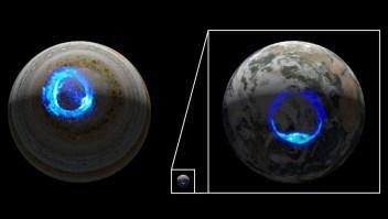 NASA revela el origen de las auroras en Júpiter