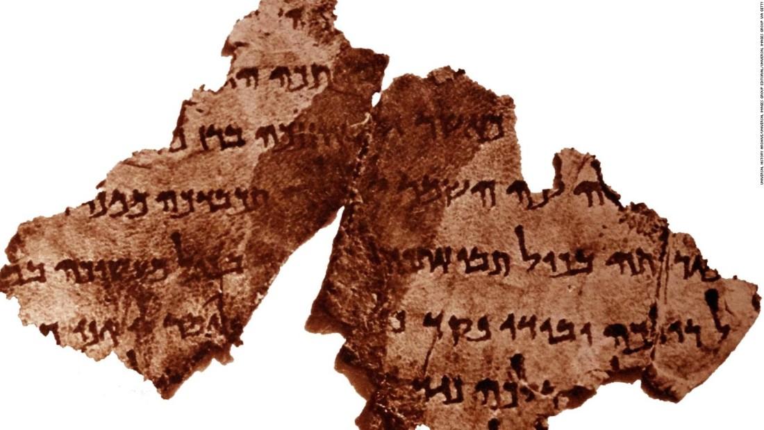 Hallan nuevas piezas de texto bíblico de hace 2.000 años