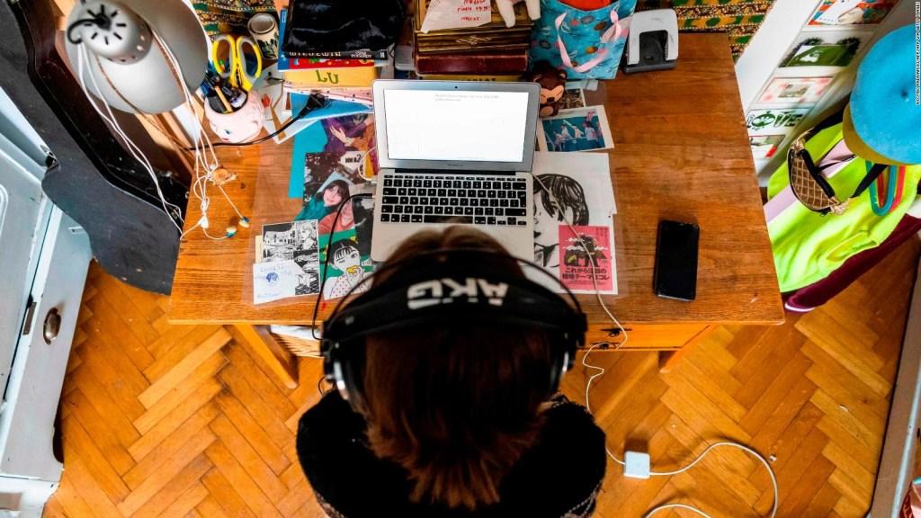 Los riesgos de la escuela en línea para la salud mental