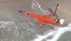 Encuentran dron militar en una playa de Florida