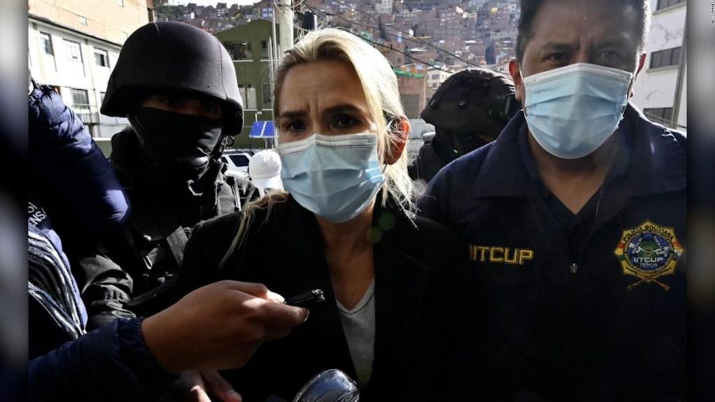 La hija de Jeanine Áñez denuncia abuso contra su madre