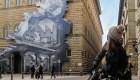 Mira la ilusión óptica del artista francés JR en Italia
