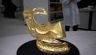Hallan máscara de oro de hace 3.000 años