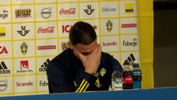 Zlatan Ibrahimovic rompe en llanto por su hijo