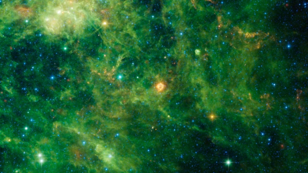 What happens after the death of a star?