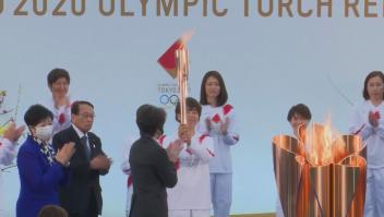 Comienza el relevo de la antorcha olímpica de Tokio 2020