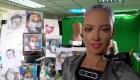 Robot Humanoide Pinta Retrato