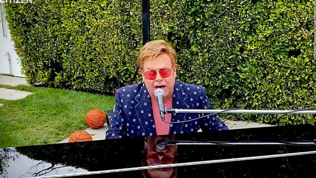 Elton John's 74th Birthday Highlights