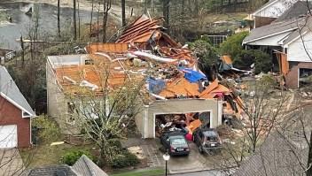 Devastadores tornados en el sur de EE.UU.