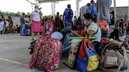 Más de 3.000 desplazados por combates en Venezuela