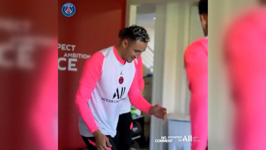 Keylor Navas y Neymar Jr. bailan al ritmo de reguetón