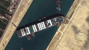 Impacto comercial por bloqueo en el canal de Suez