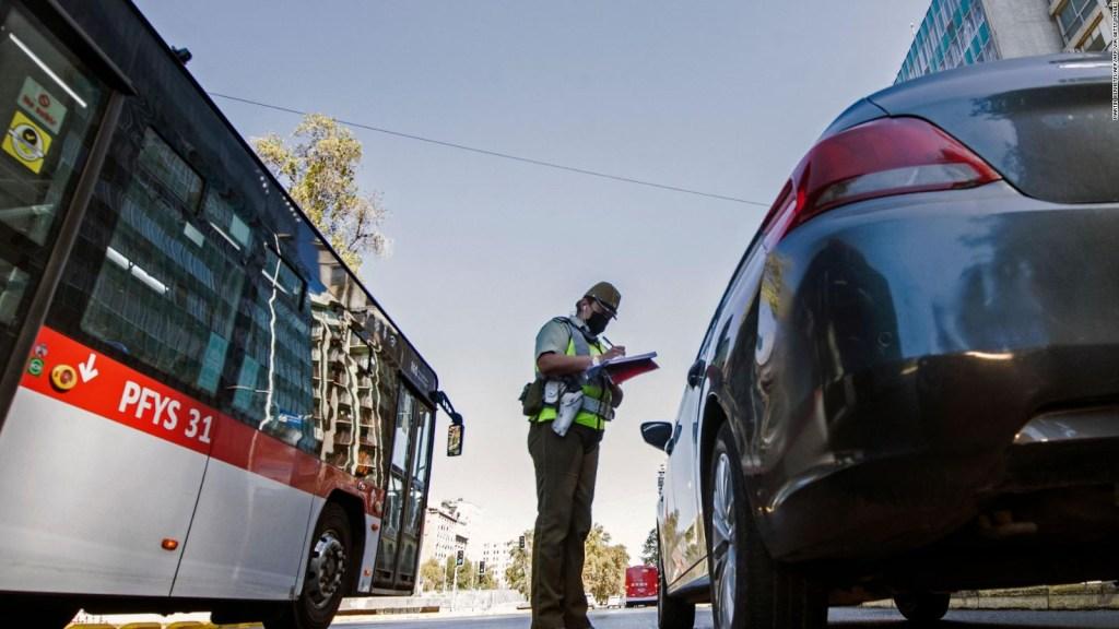 Así vive Santiago de Chile las nuevas restricciones