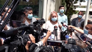 Dolor e impotencia en los familiares de Victoria Salazar
