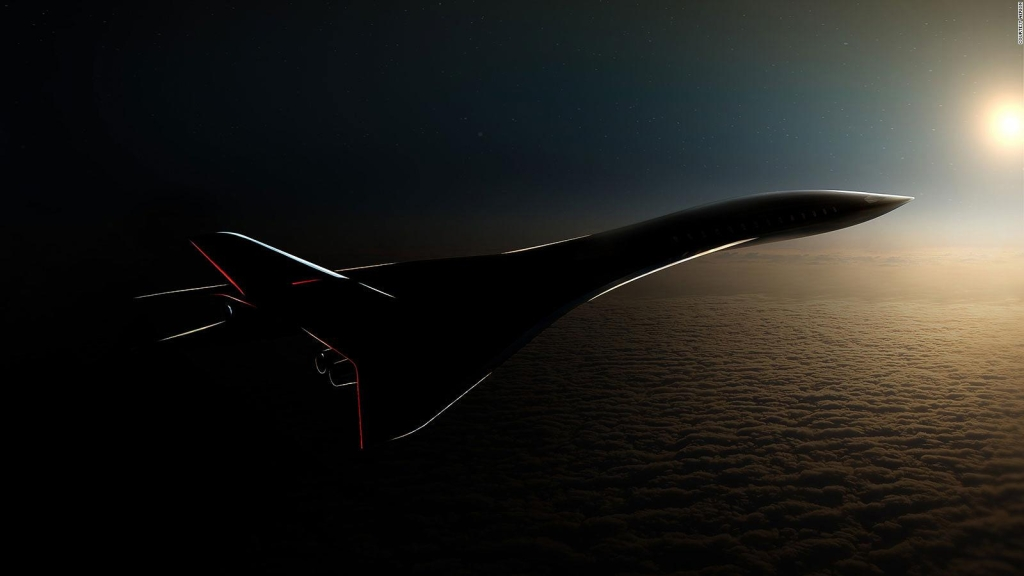 Crean un nuevo avión comercial y supersónico