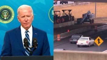 Esto incluye el plan de infraestructura de Biden