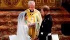 Arzobispo contradice al príncipe Harry y Meghan