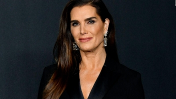 Brooke Shields se recupera de accidente