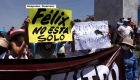 Cientos marchan a favor de Félix Salgado en Guerrero