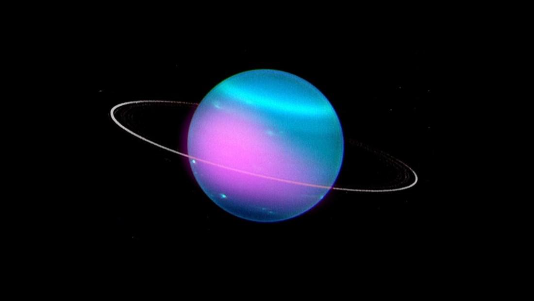 Astrónomos detectan rayos X de Urano por primera vez