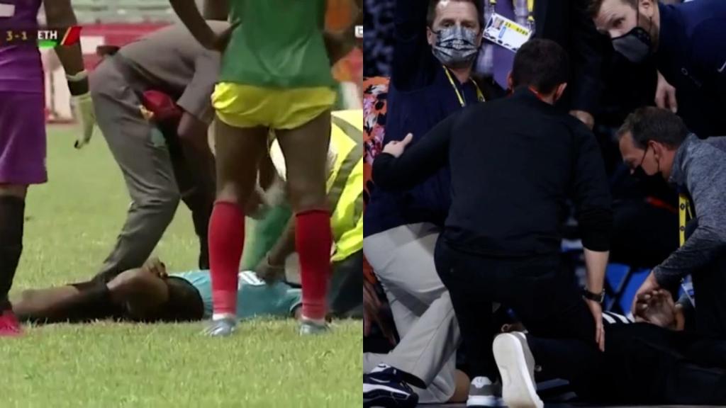 Deux juges s'effondrent pendant les matchs le même jour