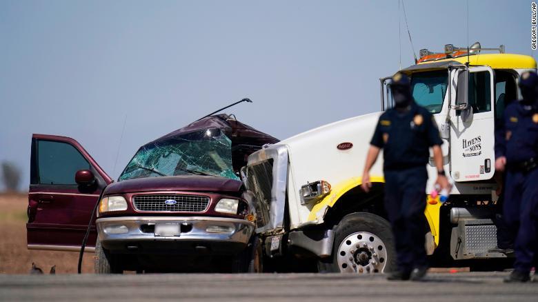 California accidente mexicanos