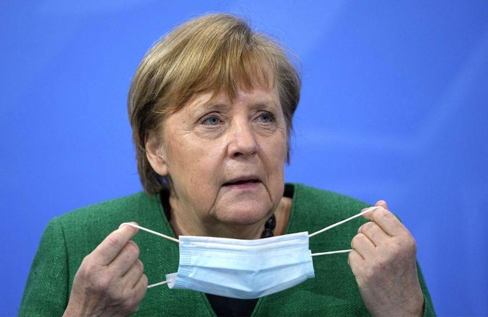 Alemania Merkel confinamiento