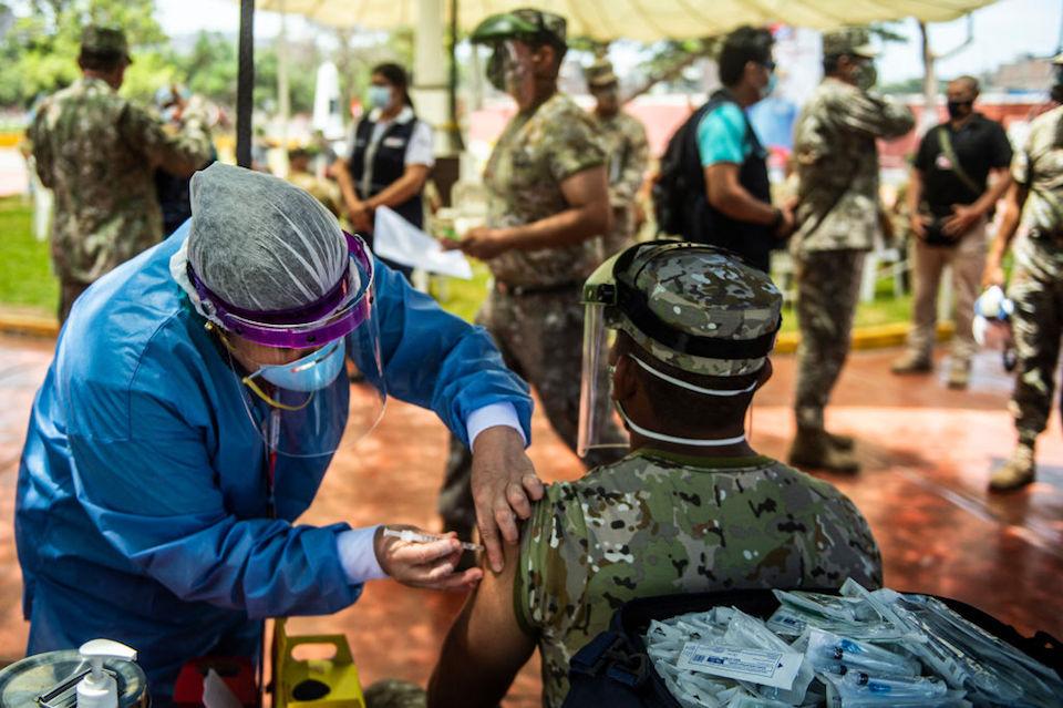 Perú Covax vacunas