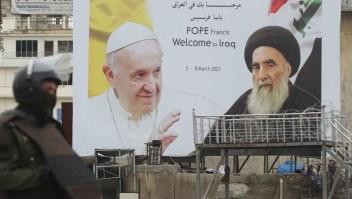 papa Iraq desafíos globales