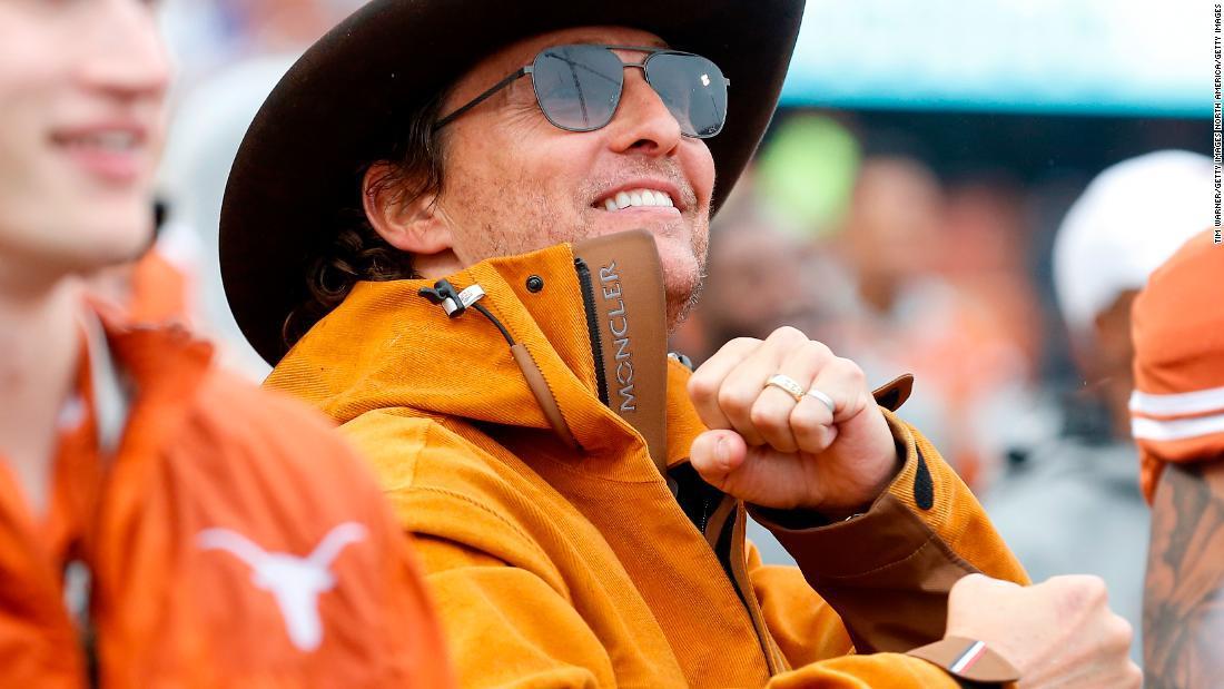 Matthew McConaughey considera seriamente lanzarse como gobernador de Texas