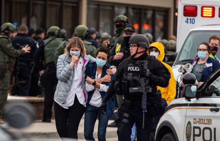 Tiroteo en Boulder Colorado: las imágenes que deja la tragedia