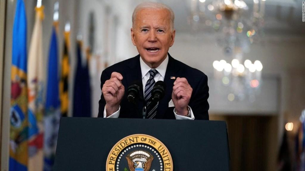 7 conclusiones del discurso de Joe Biden sobre covid-19 en horario estelar