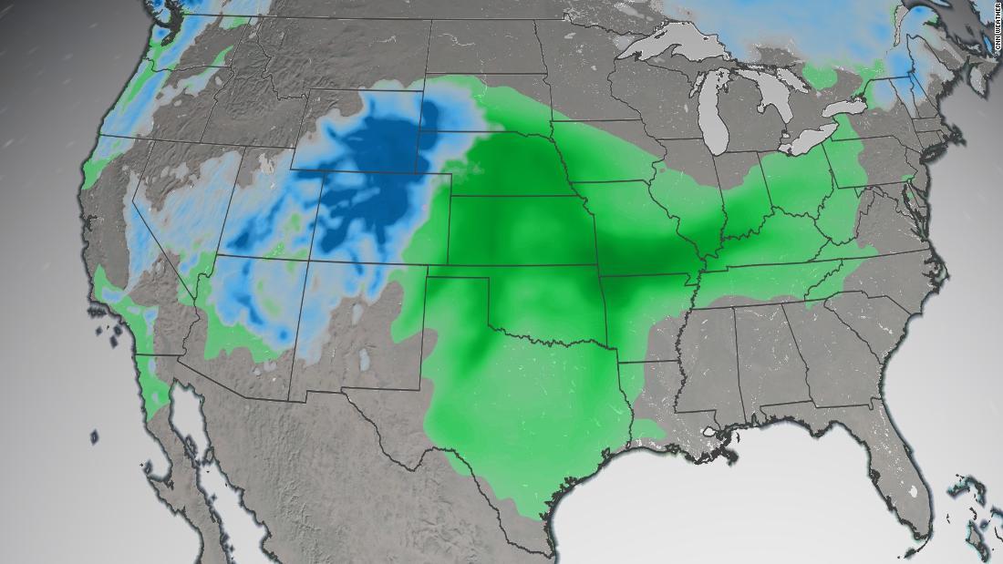 Tormenta de primavera dejará nevadas históricas y 'condiciones de viaje imposibles' en EE.UU.