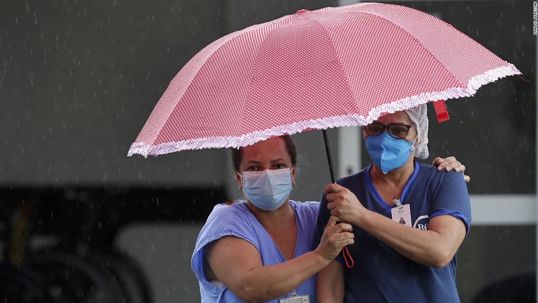 Brasil se sumerge en crisis por el covid-19: una segunda ola y una nueva variante mortal abruman los hospitales