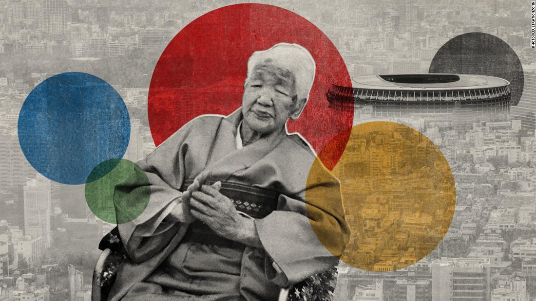 Antorcha Olímpica Persona más vieja del mundo Juegos Olímpicos Tokio Japón