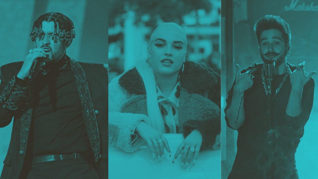 música latina spotify collage