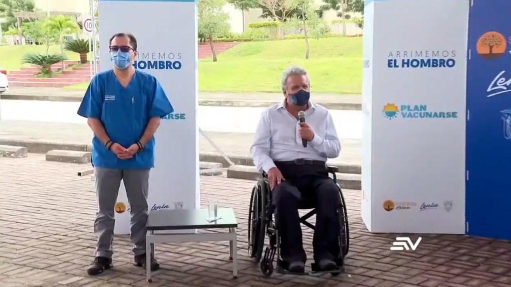 Moreno: Plan de vacunación estaba en la cabeza del ministro