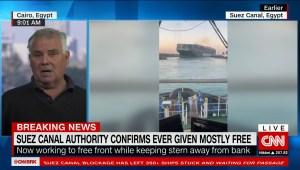 Así está la situación en el canal de Suez con el buque Ever Given