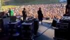 Los conciertos en vivo está de vuelta en Nueva Zelandia. Mira como es