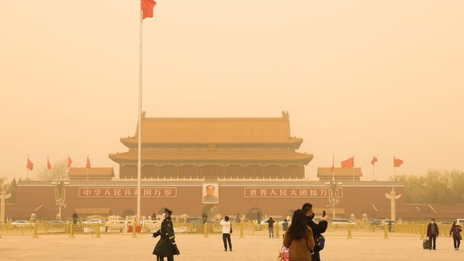 tormenta de arena china plaza tianman 6