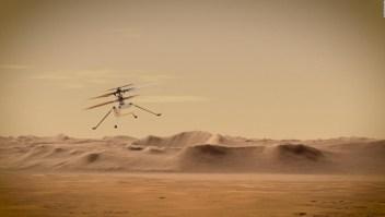 Así será el primer vuelo de un helicóptero en Marte