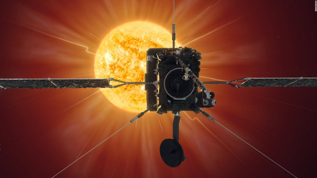 Crushed bones protect the spacecraft from the sun's heat