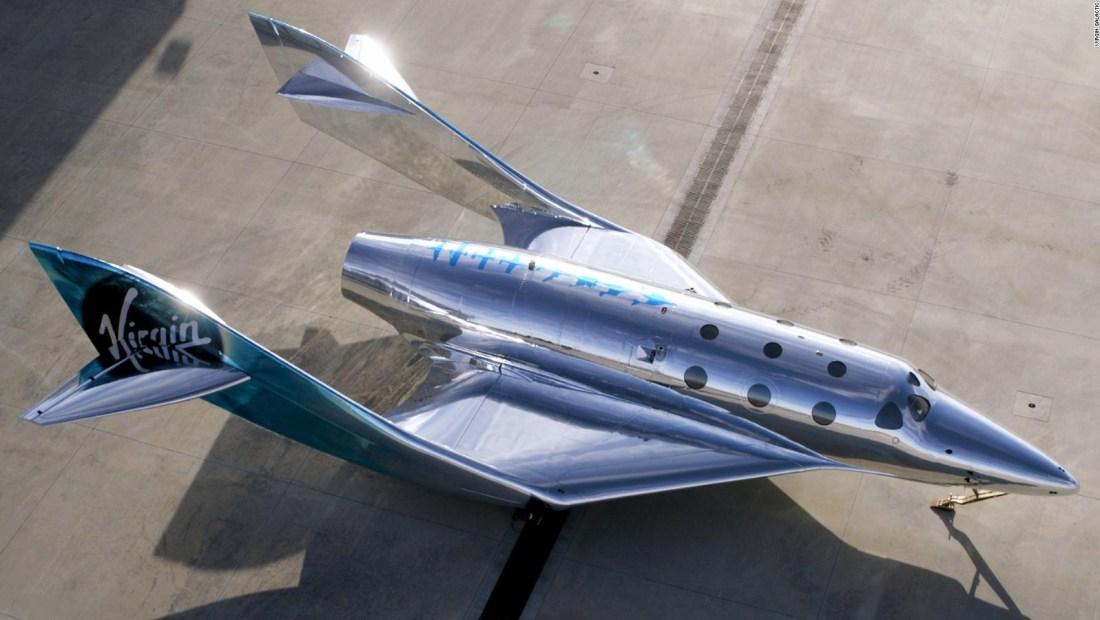 Así es la nueva nave espacial de Virgin Galactic